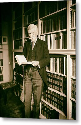 Justice Oliver Wendell Holmes 1924 Metal Print by Mountain Dreams