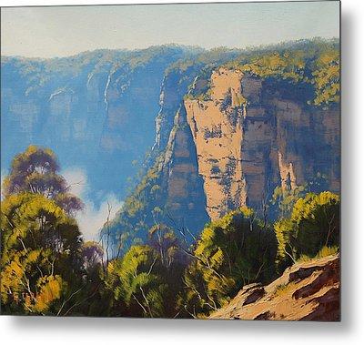 Katoomba Cliffs Metal Print by Graham Gercken