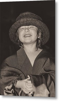 Kaylee Smilin' Metal Print