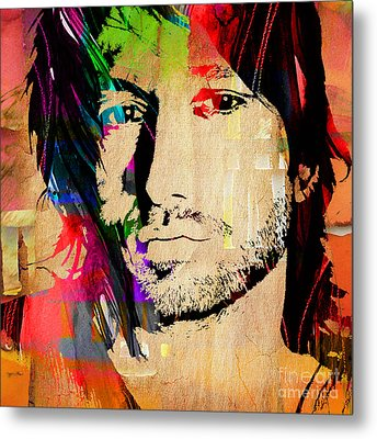 Keith Urban Collection Metal Print