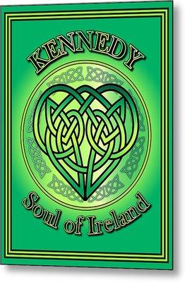 Kennedy Soul Of Ireland Metal Print