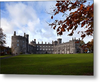 Kilkenny Castle - Rebuilt In The 19th Metal Print by Panoramic Images