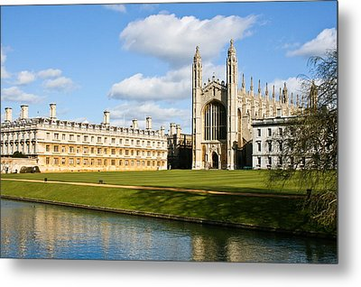 Kings College Cambridge Metal Print