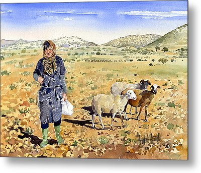 La Pastora Metal Print by Margaret Merry