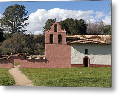 La Purisima Mission In Lompoc Metal Print