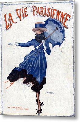 La Vie Parisienne 1918 1910s France Leo Metal Print by The Advertising Archives