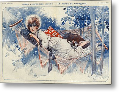 La Vie Parisienne 1920s France Maurice Metal Print by The Advertising Archives