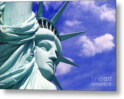 Lady Liberty Metal Print by Jon Neidert