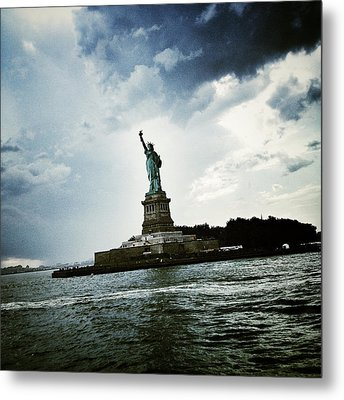 Lady Liberty Metal Print by Natasha Marco