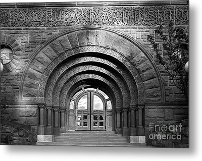 Lake Forest College Durand Art Institute Metal Print by University Icons