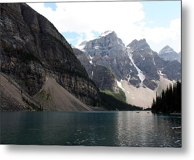 Lake Moraine Metal Print by Carolyn Ardolino