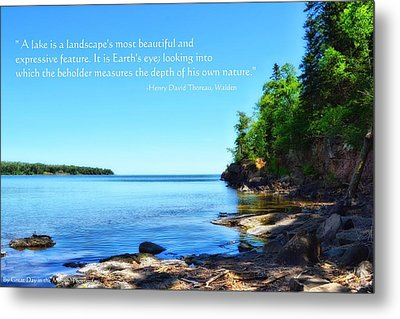Lake Superior Metal Print by Michelle and John Ressler
