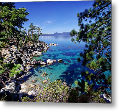 Lake Tahoe Swimming Hole Metal Print by Scott McGuire