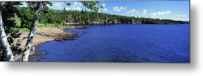 Lake View, Lake Superior, Duluth Metal Print