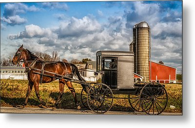 Lancaster Pennsylvania's Best Metal Print by Linda Karlin