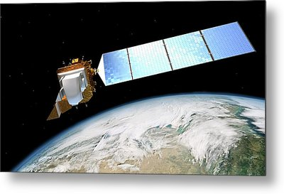 Landsat Data Continuity Mission Metal Print by Nasa