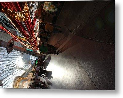 Las Vegas - Fremont Street Experience - 121210 Metal Print by DC Photographer