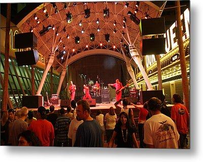 Las Vegas - Fremont Street Experience - 121211 Metal Print by DC Photographer