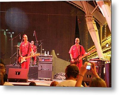 Las Vegas - Fremont Street Experience - 121213 Metal Print by DC Photographer