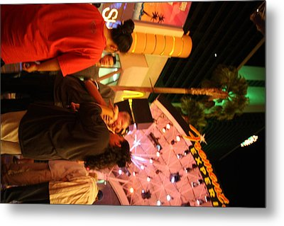 Las Vegas - Fremont Street Experience - 121215 Metal Print