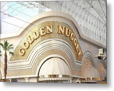Las Vegas - Fremont Street Experience - 12126 Metal Print by DC Photographer