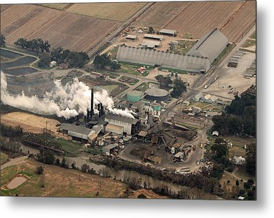 Lasuca Sugar Mill Metal Print