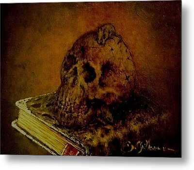 Le Livre Des Morts Metal Print by Guillaume Bruno