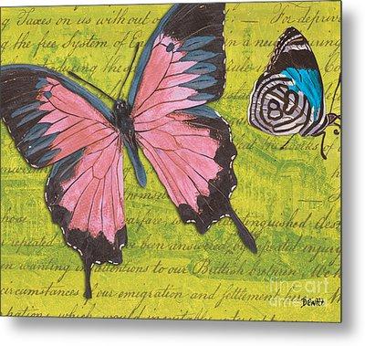 Le Papillon 2 Metal Print by Debbie DeWitt