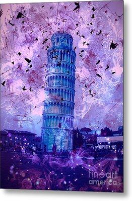 Leaning Tower Of Pisa 2 Metal Print