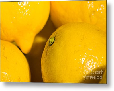 Lemons Metal Print by Jorgo Photography - Wall Art Gallery