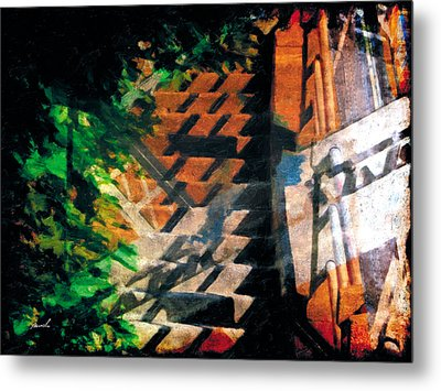 Metal Print featuring the photograph Less Travelled 19 by The Art of Marsha Charlebois