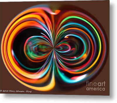 Light Art Metal Print