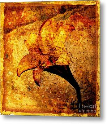 Lily Metal Print by Bernard Jaubert