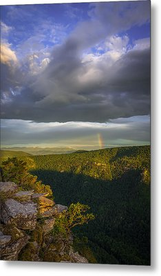 Linville Gorge Sunrise Metal Print