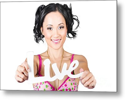 Live Life To The Fullest Metal Print by Jorgo Photography - Wall Art Gallery