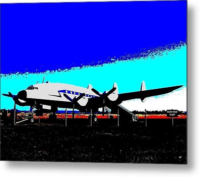 Lockheed Constellation Metal Print by Will Borden