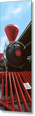 Locomotive At The Chattanooga Choo Metal Print by Panoramic Images