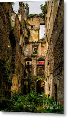 Long Forgotten Metal Print by Adrian Evans