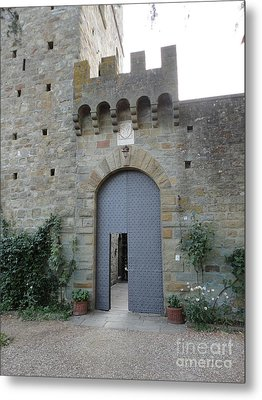 Loppiano's Castle Metal Print