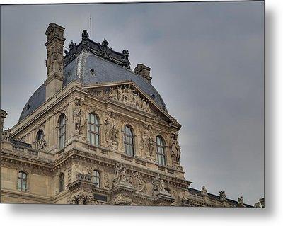 Louvre - Paris France - 01138 Metal Print by DC Photographer