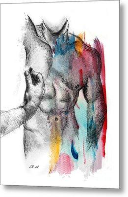 Love Colors 5 Metal Print by Mark Ashkenazi