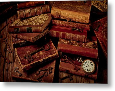 Love Old Books Metal Print by Garry Gay