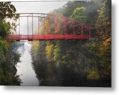 Lovers Leap Bridge Metal Print by Bill Wakeley