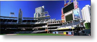 Low Angle View Of Baseball Park, Petco Metal Print