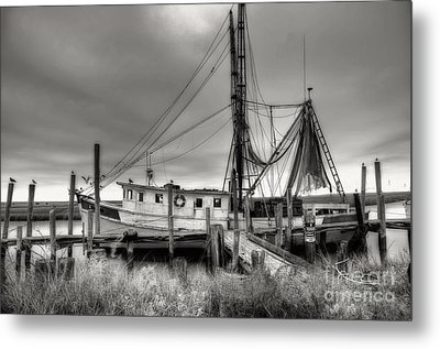 Lowcountry Shrimp Boat Metal Print by Scott Hansen