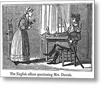 Lydia Darrah, 1777 Metal Print by Granger
