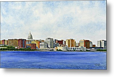 Madison Metal Print by Thomas Kuchenbecker