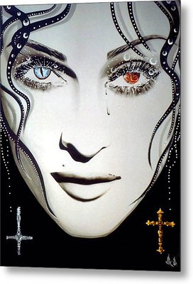 Madonna Metal Print by Alicia Hayes