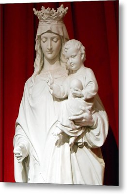 Madonna And Child Metal Print by Michael Durst