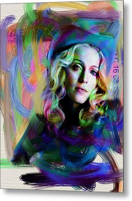 Madonna Metal Print by Unknown